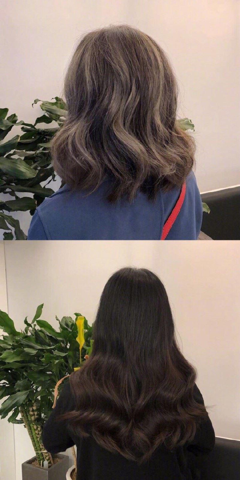卷发的各种发型发色图片,经典好看的女生卷发发型发色美图