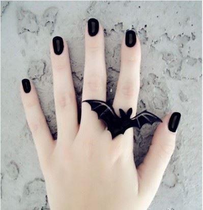 指尖妖艳魅惑法式美甲赏析图片