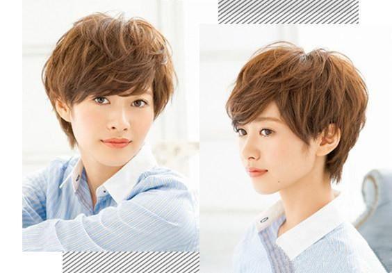 帅气又有个性的女生短发发型