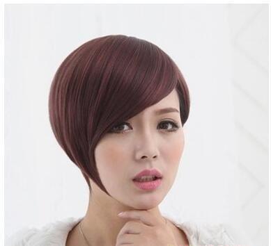 女士沙宣短发烫发造型图片