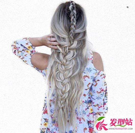 韩式潮流大波浪烫发发型