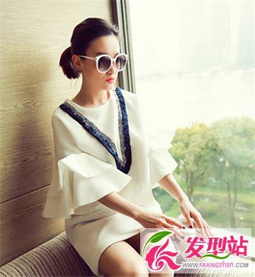 别致的时尚韩式扎发 简单清新内敛自然