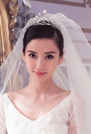 Angelababy杨颖气质新娘发型