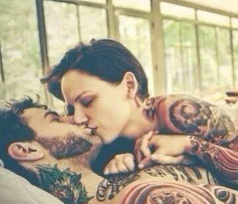 幸福情侣另类性感纹身大全图片