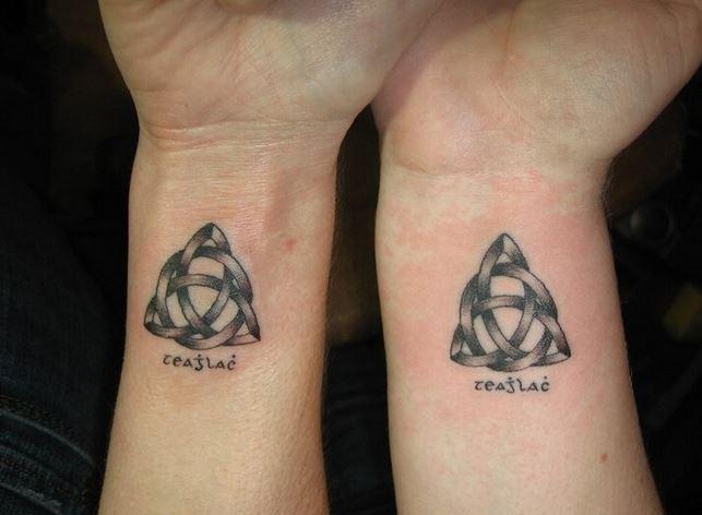 精选好看的情侣手臂纹身图案大全图片