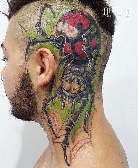 个性人物创意纹身图片